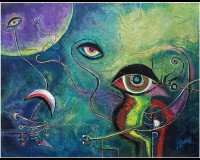 Eyes of The Cosmic String